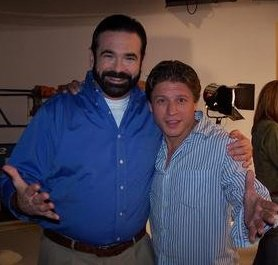 Russ Cersosimo Jr. and Billy Mays